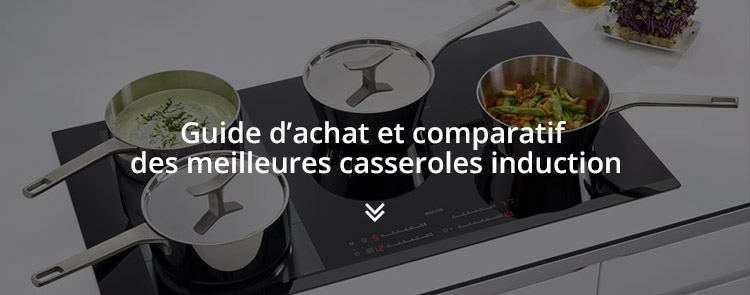 Casserole induction comment bien choisir plaque - Plaque vitroceramique quelle casserole ...