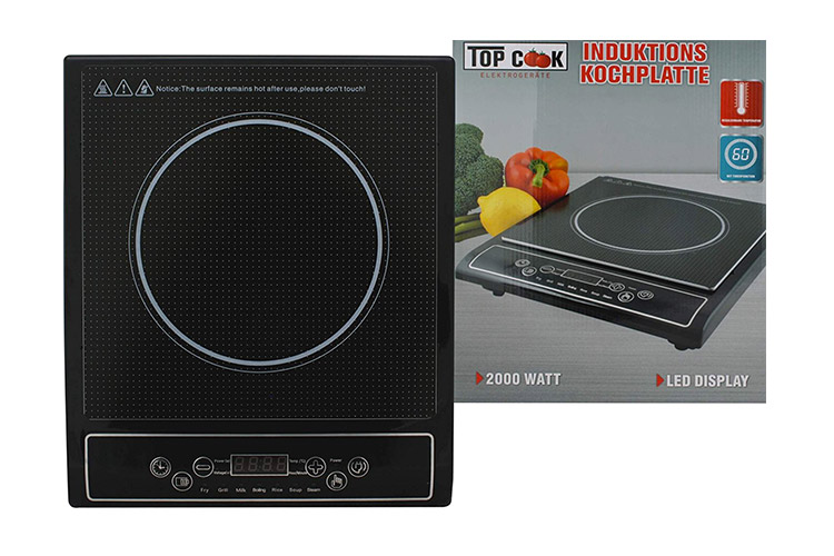 Cook Top plaque induction test